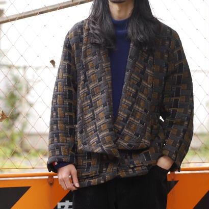Shawl collar short jacket