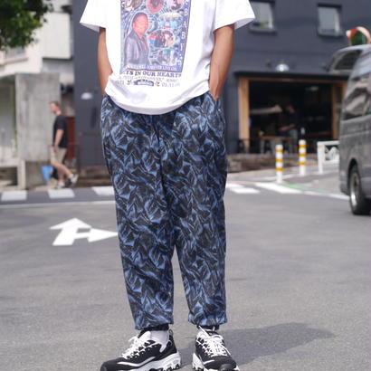 All pattern easy pants(BLU)