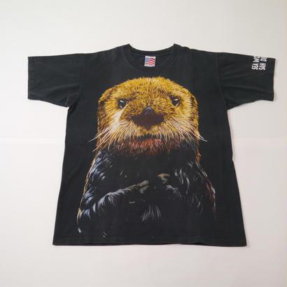 Animal print T-sh