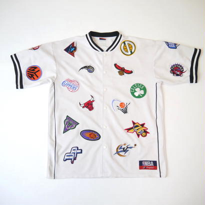 '00 NBA patchs S/S jersey