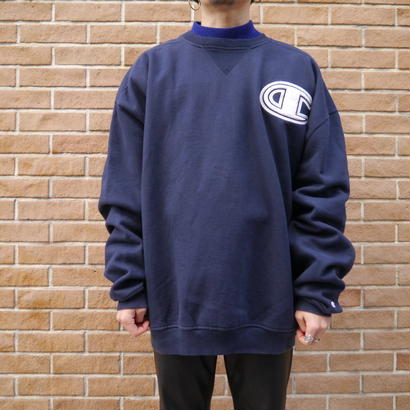 """Champion"" Oversized sweat (Navy)"