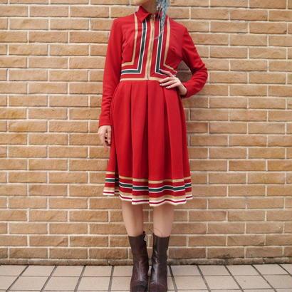 Vintage Tyrolean shirt dress