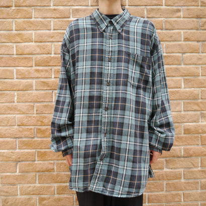 Oversized L/S Check shirt