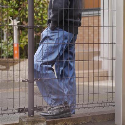 Silk easy pants(BLU)