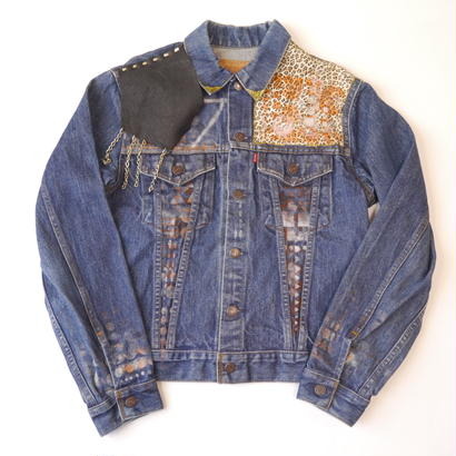 Levi's custom denim jacket