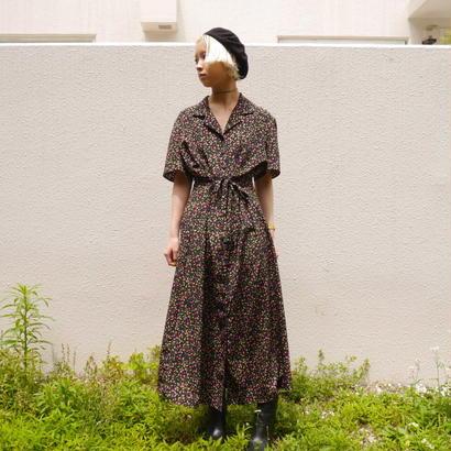 Flower × Paisley long dress