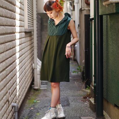 No sleeve design mini dress