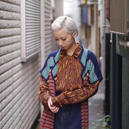 Tailored design silk shirt
