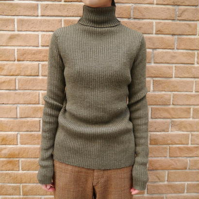 """RALPH LAUREN""  turtleneck knit"