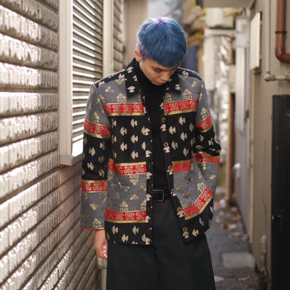 """SAG HARBOR"" oriental pattern jacket"