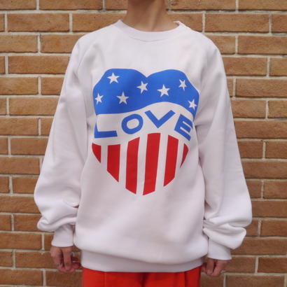 80's print sweat shirt