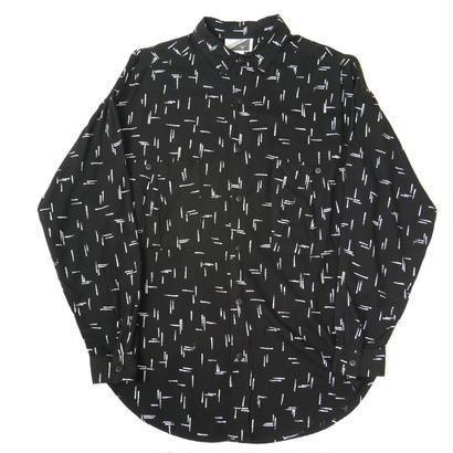 80s rayon all pattern shirt