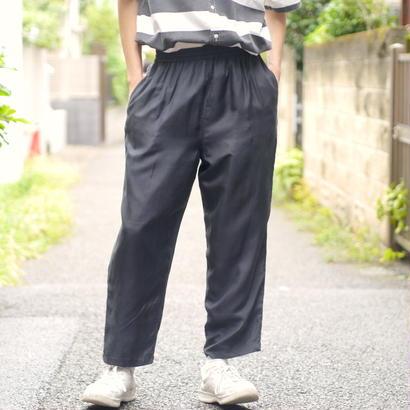 silk wide easy pants