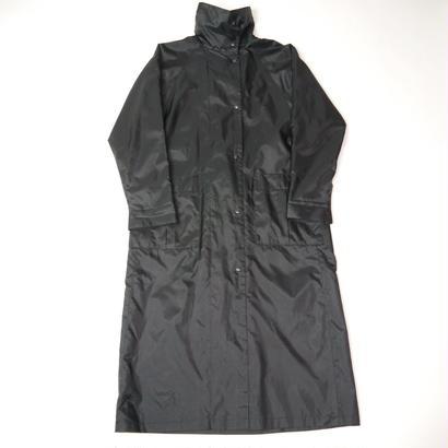 80s Standcollar long rain coat