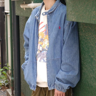 """POLO"" denim swing top"