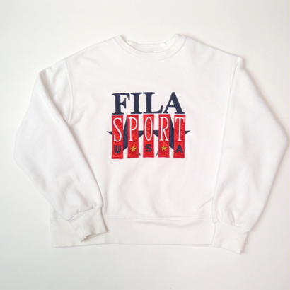 """FILA"" short sweat shirt"