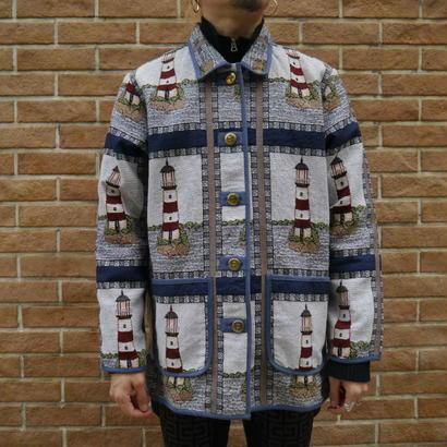 80s Lightshouse gobelines jacket