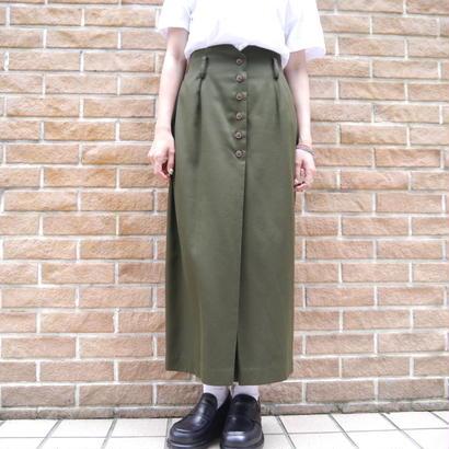 Hi-waist long skirt