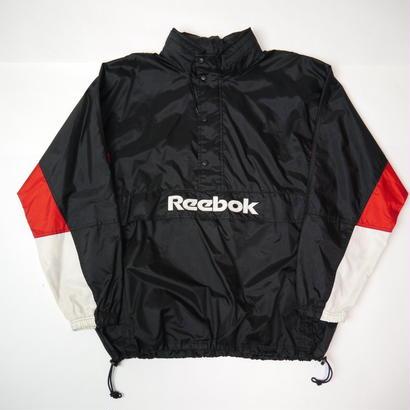 """Reebok"" half zip nylon pullover"