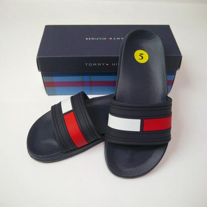 """TOMMY HILFIGER"" slide sandals(NOS)"