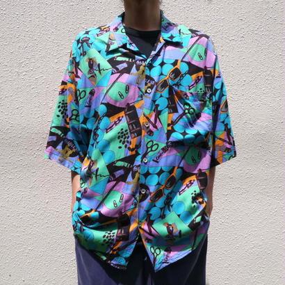 80s Rayon S/S shirt