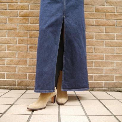 """""""GAP"""" denim long skirt"""