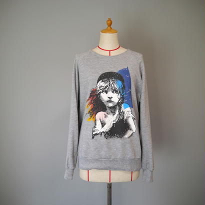 """Les Misérables"" print sweat"