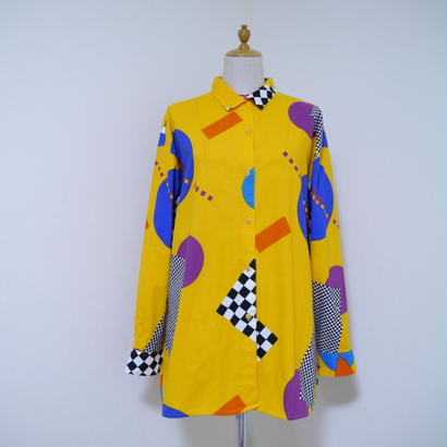 "80s ""ESPRIT"" post modern shirt"