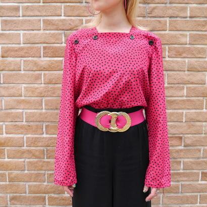 """""""pierre cardin"""" design blouse"""