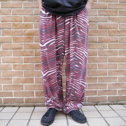 "90's ""ZUBAZ"" wide easy pants"