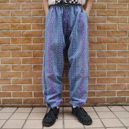 80's denim easy pants