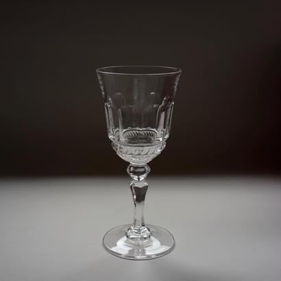 ヴィンテージのプレスドグラス ペア
