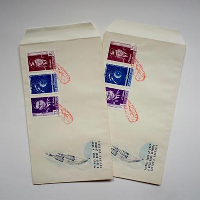ヴィンテージの封筒(ボストーク)