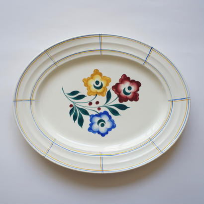 BOCH B.F.K. お花の大皿