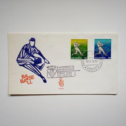 ヴィンテージ封筒(BASEBALL)