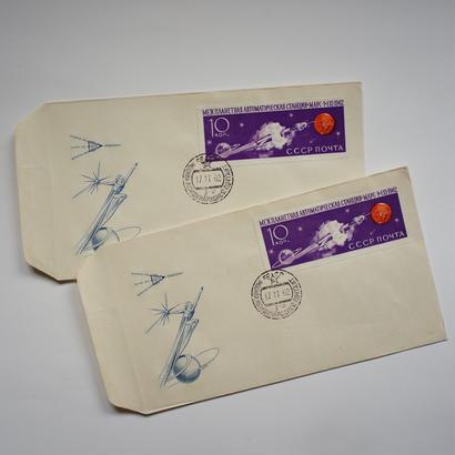 ヴィンテージの封筒(サテライト)