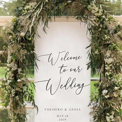 WEDDING タペストリー【90×180cm】