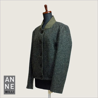 Anne Willi〈アンヌ・ウィリ〉/ ジャケット ブルゾン【REMY-WOVEN JACKET】