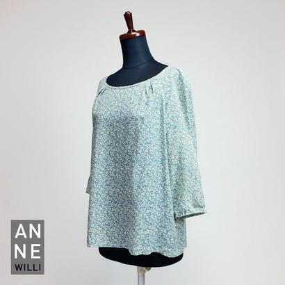 ANNE WILLI〈アンヌ・ウィリ〉/ シフォンブラウス【DUROC Top】
