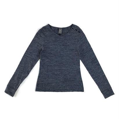 【SALE】ANNE WILLI〈アンヌ・ウィリ〉/ Tシャツカットソー【JADE】ブルー