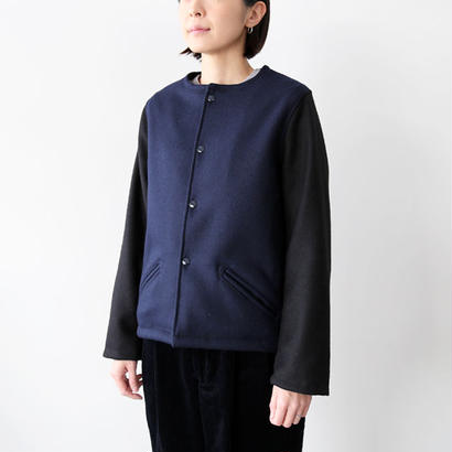 SKOOKUM (スクーカム) / NO RIBBED AWARD JACKET M 2TONE 1701M2