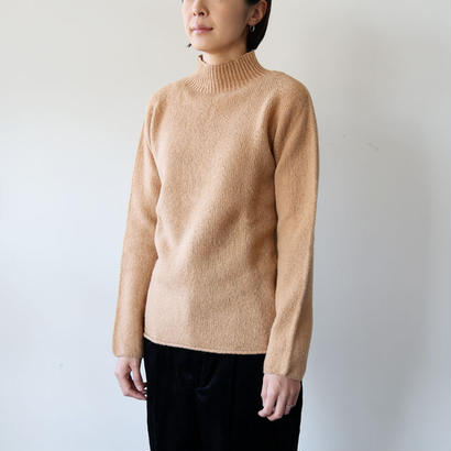 NOR'EASTERLY (ノアイースターリー) / L/S MOCK NECK 17-002