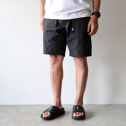 THE NORTH FACE PURPLE LABEL / 65/35 Washed Field Shorts With Belt NT4813N