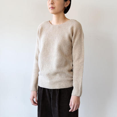 NOR'EASTERLY (ノアイースターリー) / L/S WIDE NECK 13-001