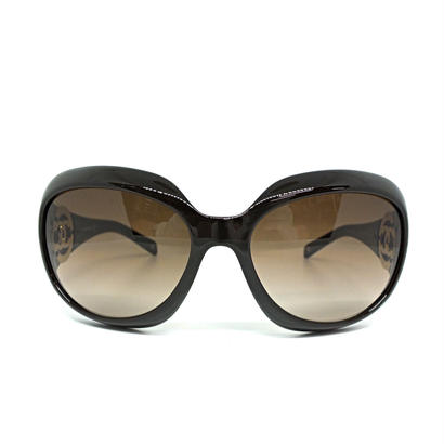 "CHANEL eye wear ""gold big coco mark"" 専用ケース付き"