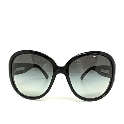 "CHANEL eye wear "" coco mark"" denim temple 専用ケース付き"