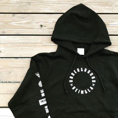 REIMGLA UND Circle parka(Black)