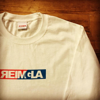 REIMGLA BOX LOGO Long-T(White)