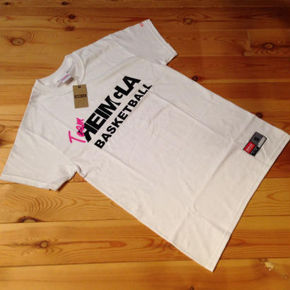Team-REIMGLA T-shirts White×CrazyPink