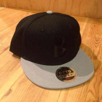 BLAX B.B Cap(Black×Gray)